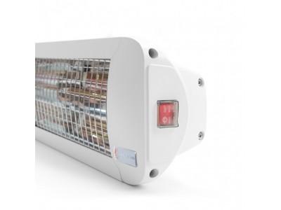 Chauffage infrarouge intérieur  COMFORTSUN24 1000W BLANC SWITCH SB